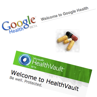 Google Healt - Microsoft Health Vault