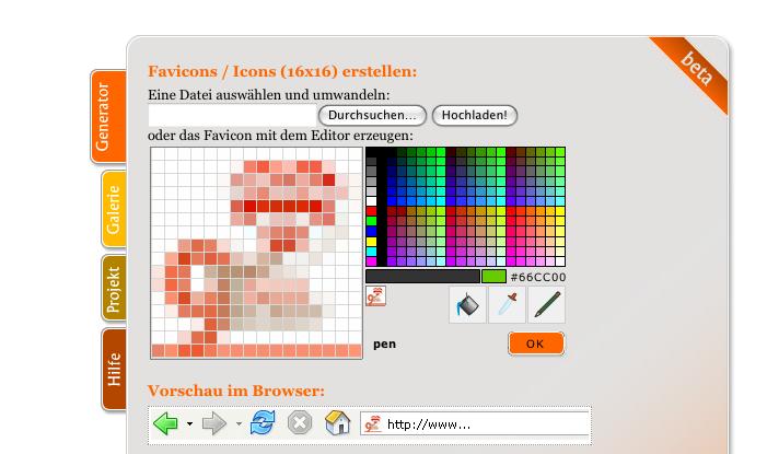Screenshot online icon generator