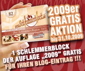 Schlemmerblock 2009 gratis