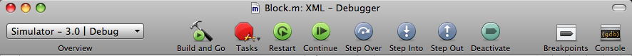 XCode Breakpoints