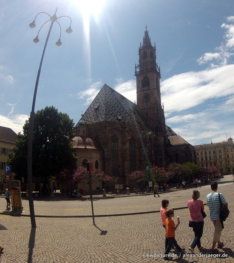 Balzano Cathedral Bozen Italien