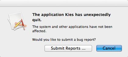Kies_error