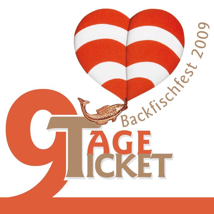 9 Tage Ticket Flyer