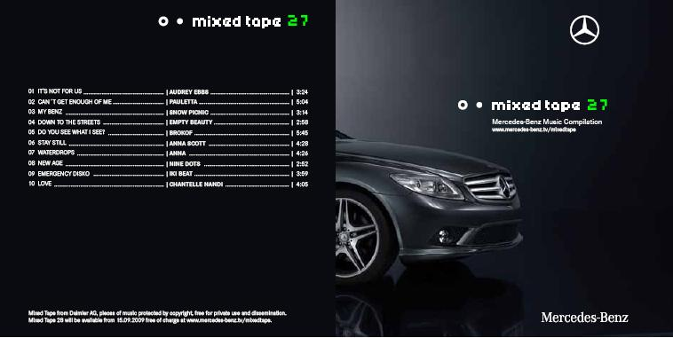 Mercedes Benz Mixed Tape 28 Cover