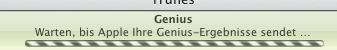 Genius aktualisieren Fortschritt